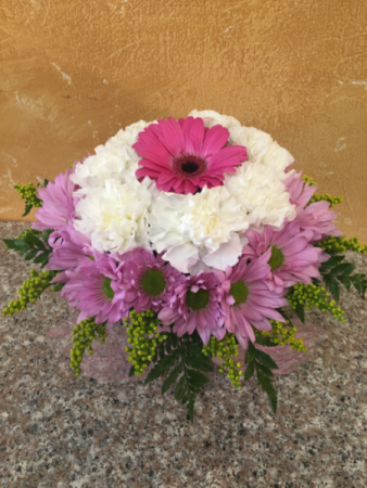 A bundle of petals Cube arrangement