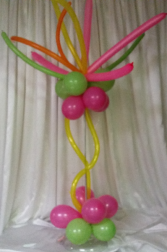 A burst of fun (5 or more centerpieces) Centerpiece or floor column