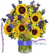 A BURST OF SUNSHINE Floral Arrangement