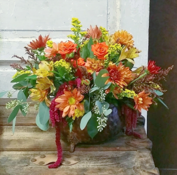 Overflowing Gratitude  Centerpiece