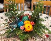 A Cheerful Christmas Centerpiece Centerpiece