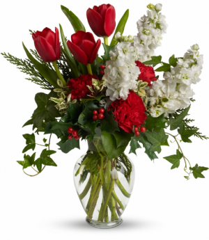 A Christmas Gathering Fresh Flowers in Tulsa, OK | THE WILD ORCHID FLORIST