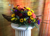 A Cornucopia of Good Wishes Fresh Arrangement