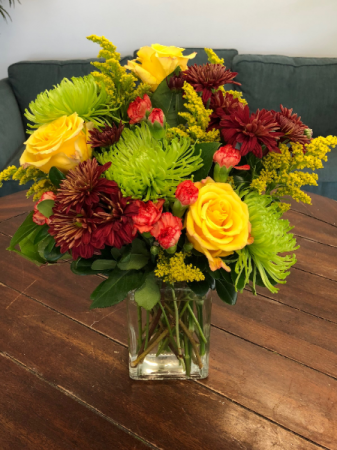 A Dash of Autumn Vase Arrangement