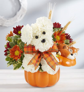 A DOD-ABLE FOR FALL Fall Arrangement