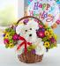 a-DOG-able® in a Basket Birthday Birthday basket