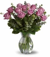A Dozen Purple Roses