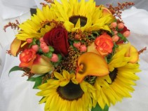 A Fall Bride Bridal Bouquet