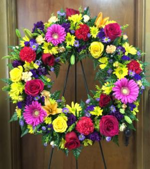 A FOND FAREWELL WREATH in Saint Louis, MO | SOUTHERN FLORAL SHOP