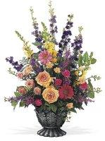 Treasured Tribute Funeral Fresh Arrangement