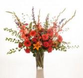 A FULL LIFE Large vase arrangement