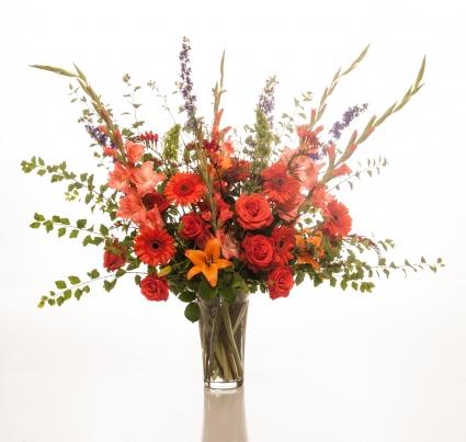 A Full Life Large Vase Arrangement In Salem Or Heath Florist