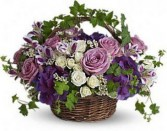 Blissful Basket Spring Arrangement