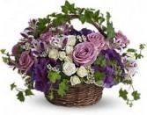 Blissful Basket Spring Arrangement