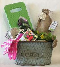 A Galvanized Garden Mother's Day Basket