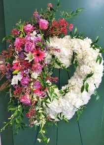 A Garden Of Love Funeral Wreath