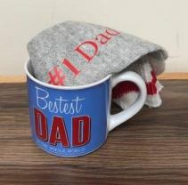 Father's Day gift ideas Mug and socks