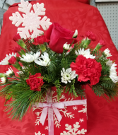 A Gift of Joy Christmas Arrangement