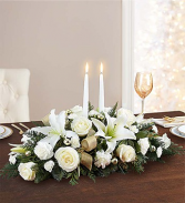 A Glowing Elegance Centerpiece holiday