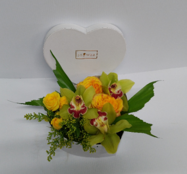 A Heart Of Gold Arrangement