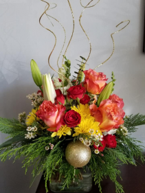 A Holiday Flair Vase Design