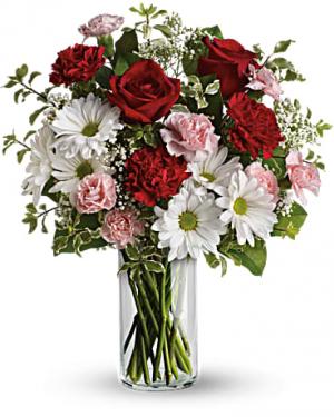 A Kiss In The Park Bouquet in Jasper, TX | BOBBIE'S BOKAY FLORIST
