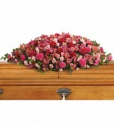 A Life Loved Casket Spray     T-259-3 Casket Spray