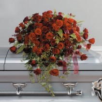 A Life Well Lived EV127-21 Fresh Casket Top Piece