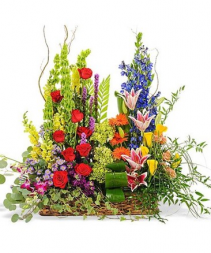 Splendor in the Garden Basket