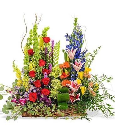 Splendor in the Garden Basket