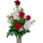 A Little Bit of Love Vase arrangement