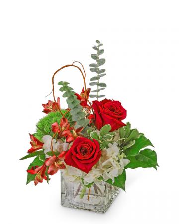 A Little Bit Sinatra Flower Arrangement