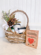 A Little Happy Gift Basket