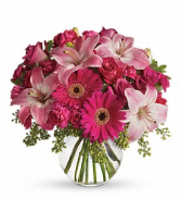 A Little Pink Me Up floral arrangement