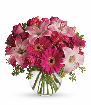 A Little Pink Me Up T10-3 in Rossville, GA | Ensign The Florist