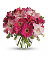 A little Pink Me Up  vase