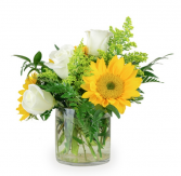 A Little  Sunshine  Vase Arrangement