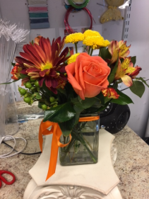 A Little Touch of Fall floral