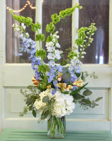 The Olive Bouquet Mason Jar