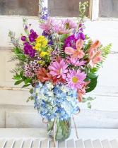 The Bella Bouquet Mason Jar