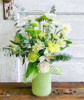Grinning Greens Mason Jar