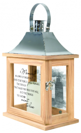 A Memory Lantern Small w/Batteries