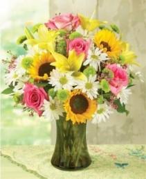 Summers Breeze Vase Arrangement
