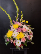 A Mother's love Basket Arrangement