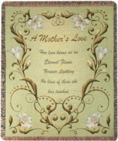 A Mother's Love Woven Throw