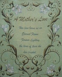 A Mother's Love Blanket