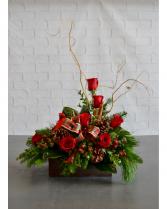 A Mountain Christmas  Christmas arrangement