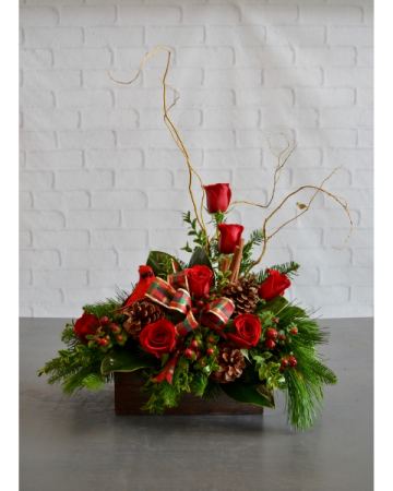 A Mountain Christmas  Christmas arrangement