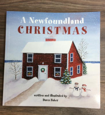 A Newfoundland Christmas children's book NL book