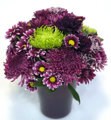 A Passion for Purple Arrangement